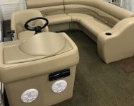 Lippert Pontoon Seating & Console Installation 2