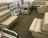 Lippert Pontoon Seating & Console Installation 1